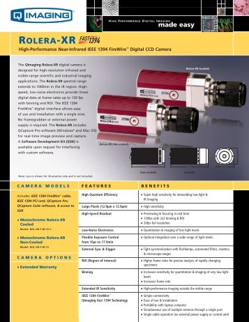 ROLERA-XR - I-cube Image Analysis and Processing