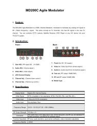 MD200C Agile Modulator