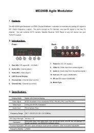 MD200B Agile Modulator