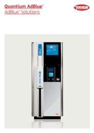 Quantium AdBlue® AdBlue Solutions - Tokheim