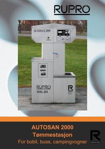 AUTOSAN 2000 Tømmestasjon - classic.vitaminw.no