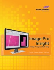 Image-Pro® Insight - I-cube Image Analysis and Processing