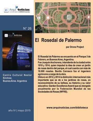 El Rosedal de Palermo por Drone Film Project