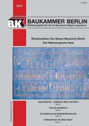 2011-51: BK-Heft 2/2010 - Baukammer Berlin