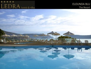 ELOUNDA BLU - Travel To Greece