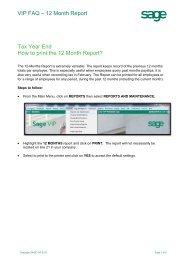 Sage HRMS Payroll - HRIS