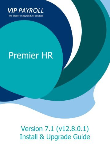 premier hr version 7 release notes sage vip payroll rh yumpu com Sage UK Payroll sage vip payroll user manual