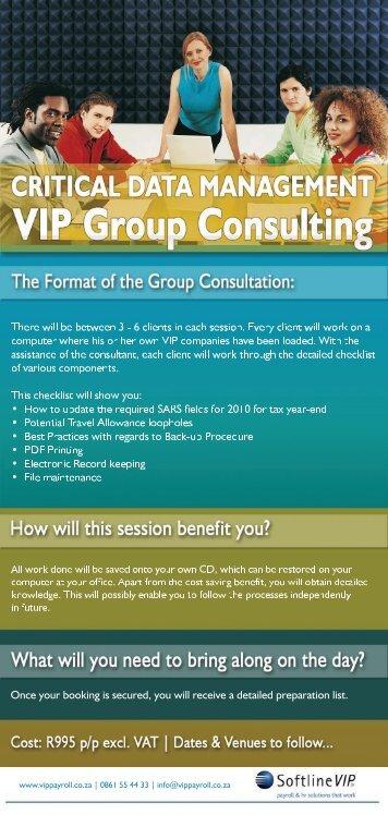 booking form 2009 - VIP Payroll