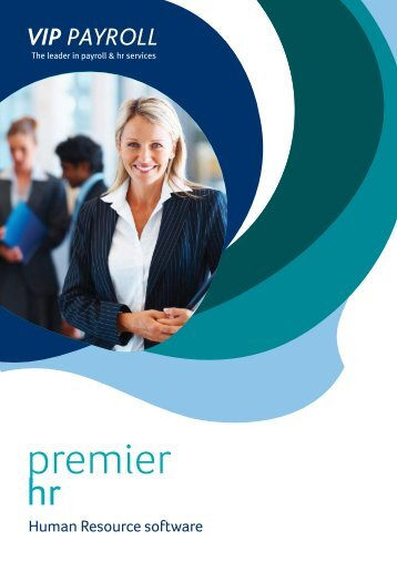 Download the Premier HR brochure (PDF) - Sage VIP Payroll