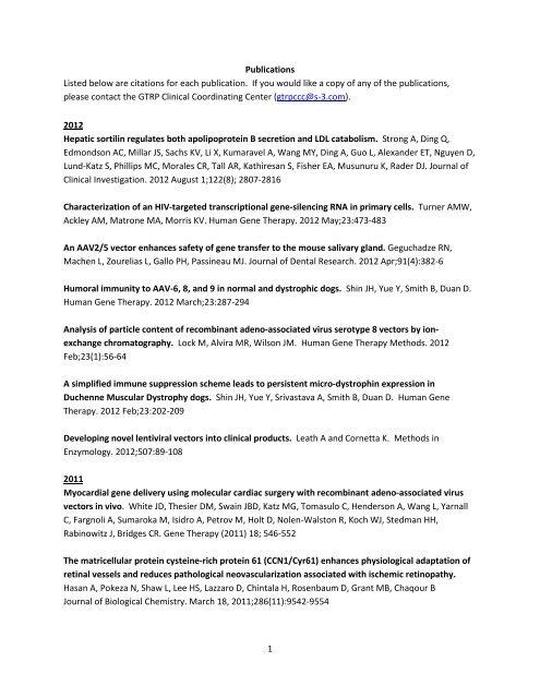 foto de 1 Publications Listed below are citations for each publication. If ...