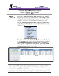 Aeries.net Student Information System School ... - Eagle Software