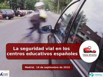 Estudio de seguridad vial en el entorno escolar