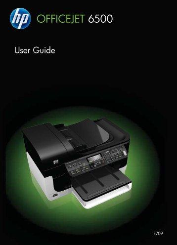 HP Officejet 6500 (E709) - FTP Directory Listing - Hewlett Packard