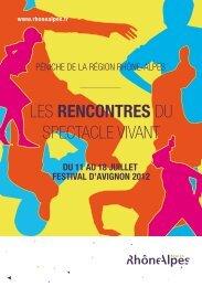 Le programme des rencontres - Réseau Culture 21