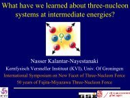 What have we learned about three-nucleon systems at intermediate ...