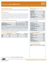WisdomTree INDIA EARNINGS FUND - and ETF Constituent Lists ...