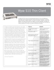 How to Adjust your Monitor Resolution with a Wyse Thin Client
