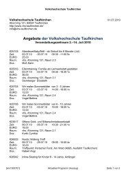 Informationen... - Taufkirchen-Guide