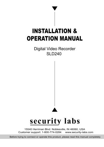 security labs dvr software