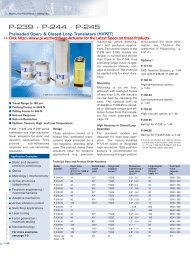 P-239 Datasheet (PDF), Preloaded Open- & Closed-Loop - PI