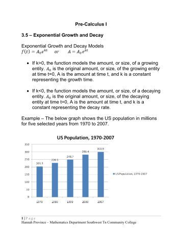 Growth And Decay Worksheet - The Best and Most Comprehensive ...