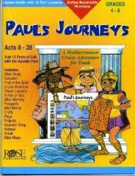Family Workbook - St. Paul's Journeys