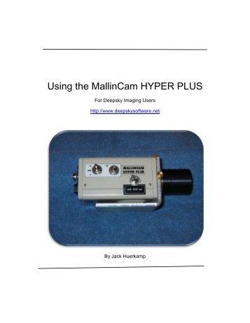 Using the MallinCam HYPER PLUS - Waning Moon II
