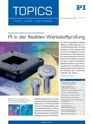 PI Topics 44, Piezo Werkstoffpruefung, Bleifreie Piezokeramik ...