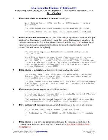apa format edition
