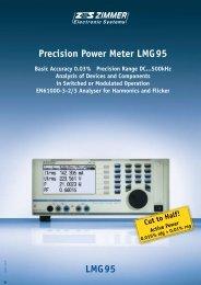 LMG95 Precision Power Meter LMG95