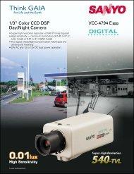 """VCC-4794 E 1/3"""" Color CCD DSP Day/Night Camera - psn-web.net ..."""