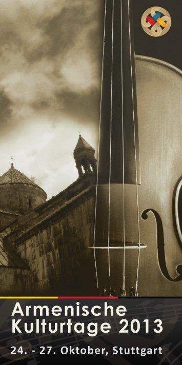 """Download """"Programmheft AKTS 2013"""" - Armenische Kulturtage ..."""