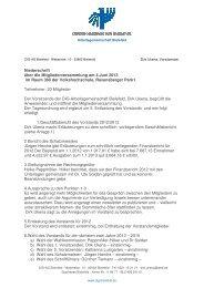 Niederschrift über die Mitgliederversammlung am 4.Juni 2013 im ...