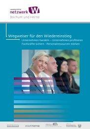 Wegweiser für den Wiedereinstieg - Competentia NRW