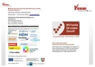 die Auszeichnung - Verbund für Unternehmen und Familie eV