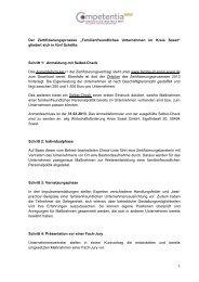 Schritt 1 - Competentia NRW