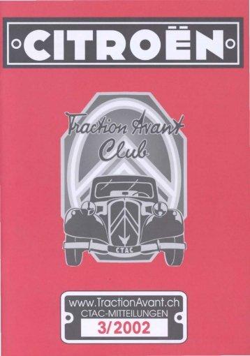 berichte - Citroen Traction Avant Club Switzerland