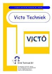 Folder VICTO Techniek - Brink Techniek