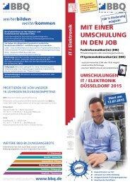 Umschulungen Wirtschaft (IHK) 2013 - BBQ