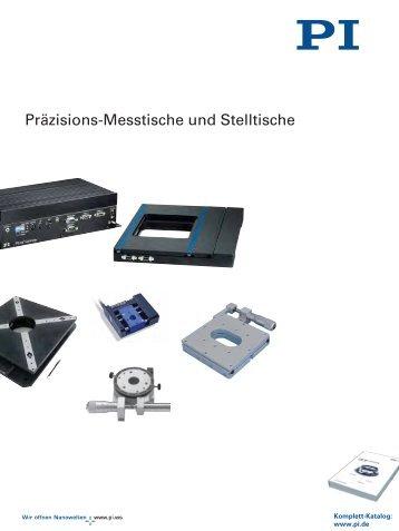 Katalog Messtische und Kreuztische - PI