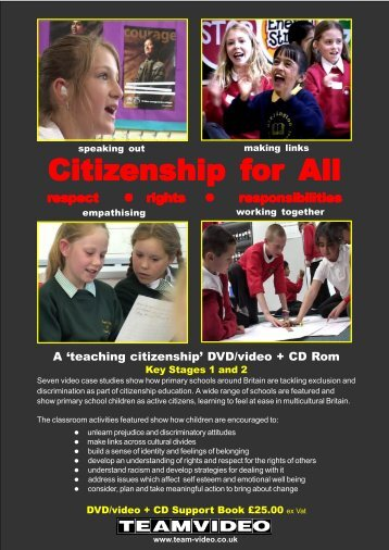 Download The Citizenship for All / order form - Team Video