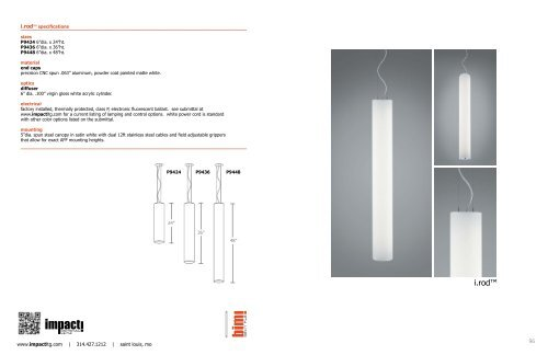 Catalog Page Impact Architectural Lighting