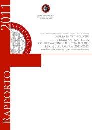 R appor to - Università degli Studi di Bologna