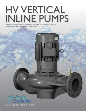 KV Series Performance Field 1160 RPM KV ... - Hydroflo Pumps