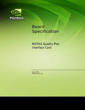 Board Specification
