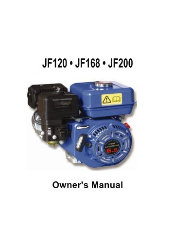 Titan 120 168 200 Engine Owners Manual