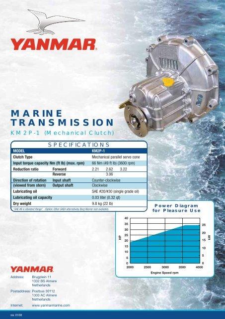 marine transmission - Yanmar