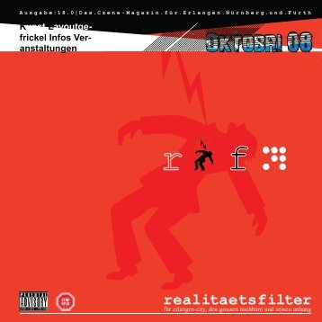 Ausgabe Oktober 2008 - realitaetsfilter