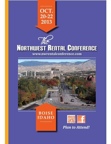the 2013 NWRC Attendee Brochure. - Nwrentalconference.com