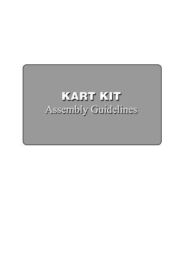GO KART KIT Assembly Guidelines